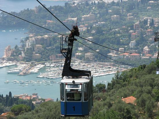 Santuario di Montallegro : Cable Car Journey