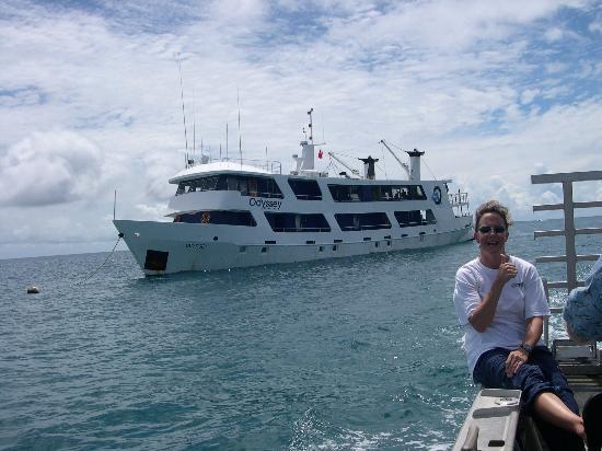 Truk Lagoon: the boat