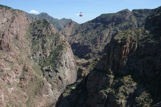 Royal Gorge Bridge and Park: Royal Gorge aerial tram