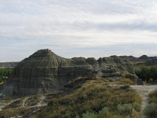 Brooks, Canada : Badlands in nearby Dinosaur Provincial Park