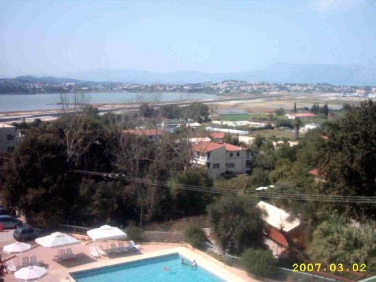 Kanoni, Greece: ARITI view from the room's balcony