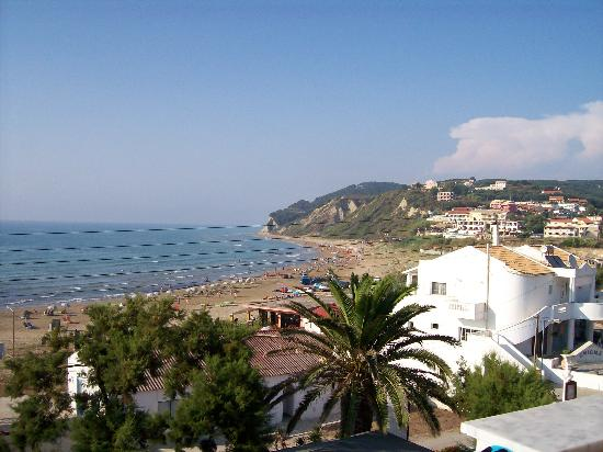 Agios Stefanos, Grecia: View from the Balcony