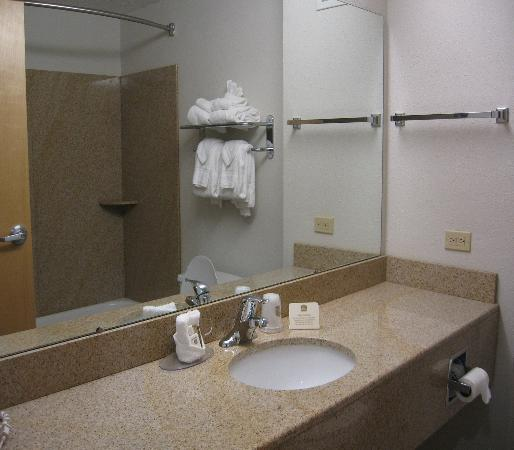 Best Western North East Inn: Best Western Inn (bathroom sink)