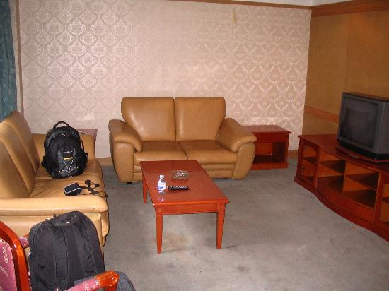 James Joyce Coffetel Lasa Dazhao Temple: Living Room