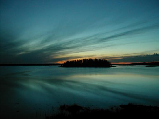 Edmonton, Canada: Sunset on Astotin Lake