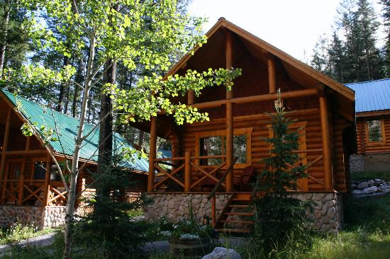 Cathedral Mountain Lodge: Cabins