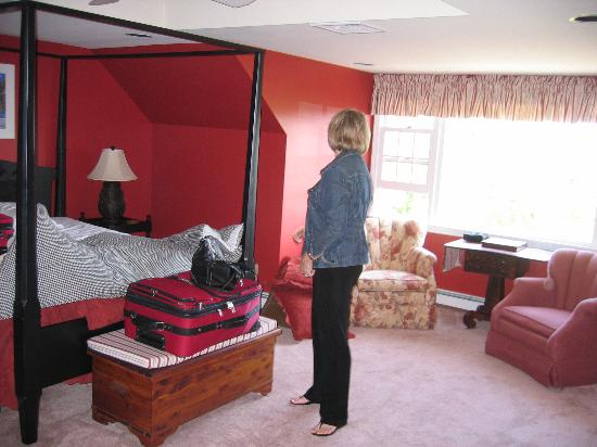 High Pointe Inn: Bedroom
