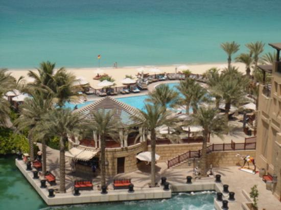 Jumeirah Mina A'Salam: Pool Lounge