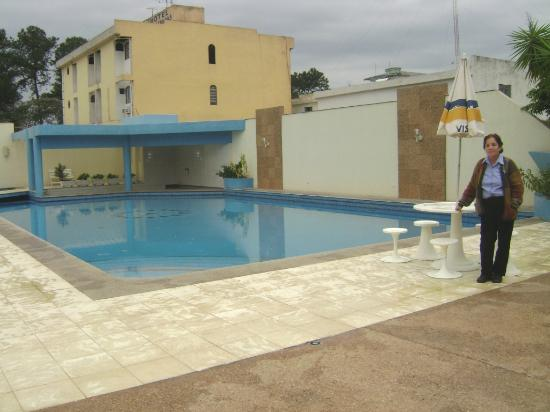 Hotel Foz do Iguacu: Pool area