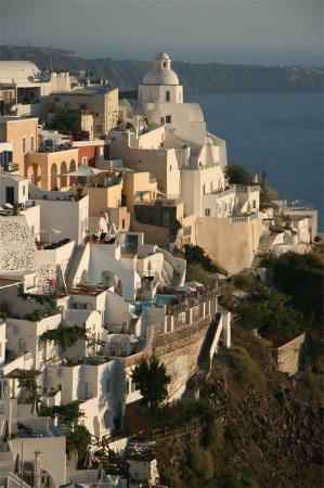 Zorzis Hotel: town of Fira - 20 min by bus; good for pictures
