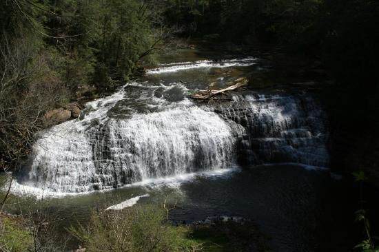 Sparta, TN: Burgess Falls before the draught