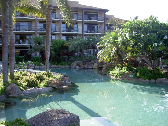 Lawai Beach Resort: Banyon Pool Area