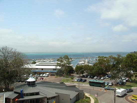 Nelson Bay, Australië: view from balcony