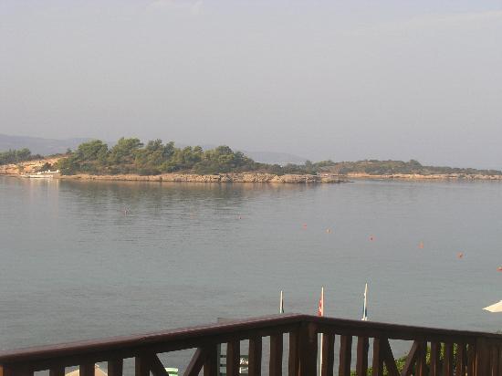 AKS Hinitsa Bay : View from Hinitsa hotel
