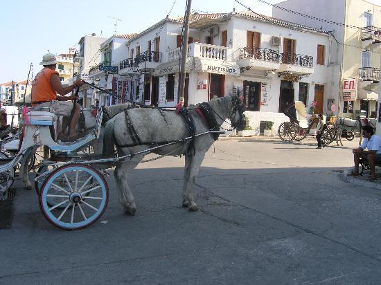 AKS Hinitsa Bay: Carriage in Spetses