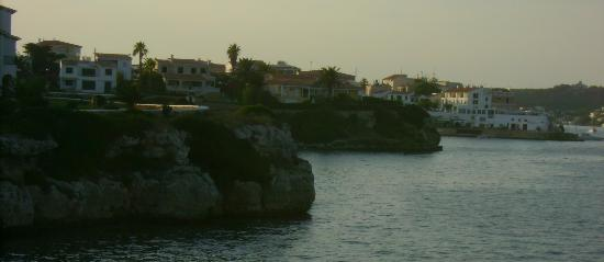 Es Castell, Spain: view to Calas Fonts from Sol Del Este