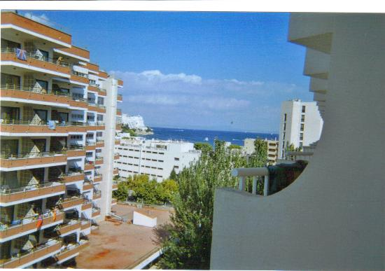 Magaluf, Spain: view from balcony