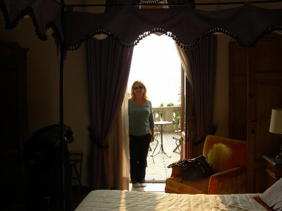 Hotel Florence : Lake view door.