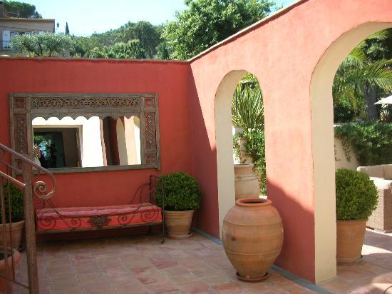 Hotel la Villa: jardin1