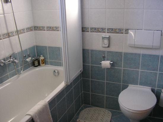 Hotel Laurentum: Bathroom totally ok.