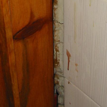 Berksoy Hotel: Wall joins at Berksoy