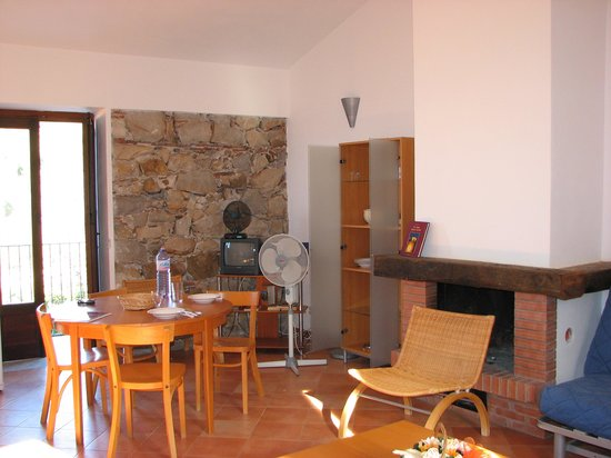 Villa Palamara 1868: Living Room of 2-person-appartement,right side