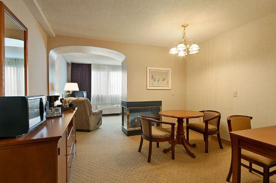 Ramada Ithaca Hotel and Conference Center: This was our guestroom!