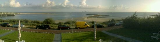 Breskens, Niederlande: View from the balcony