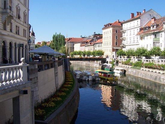 Lubiana, Slovenia: Ljubljana River