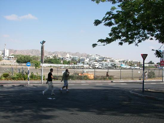 Galey Hotel Eilat : View from Front of Hotel Galey