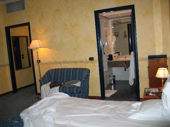 Una Hotel Brescia : la chambre