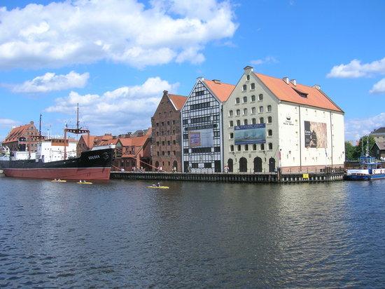 Danzig, Polen: Gdansk Centre