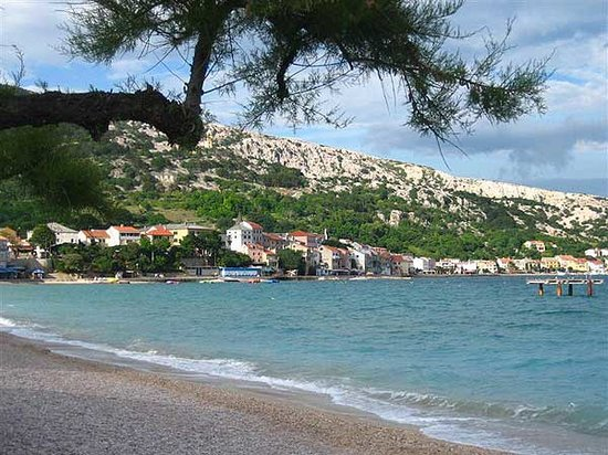 Башка, Хорватия: Baska beach