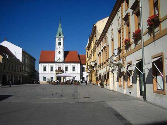 Hotel Turist Varazdin : Varazdin main square