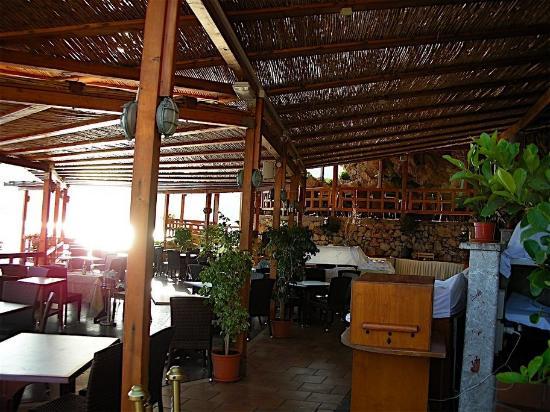 near pool restaurant