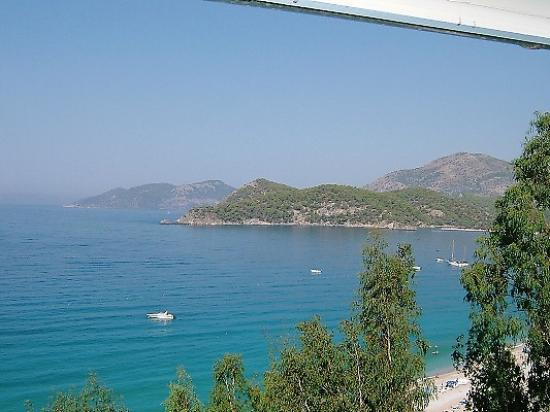 Beyaz Yunus Hotel: View from our balcony