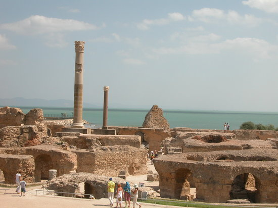 Cartagine, Tunisia: le rovine