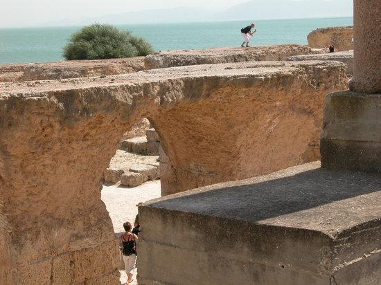 Kartago, Tunisia: la maestosita' delle rovine