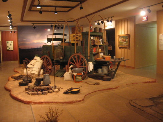Lubbock, TX: Chuckwagon display