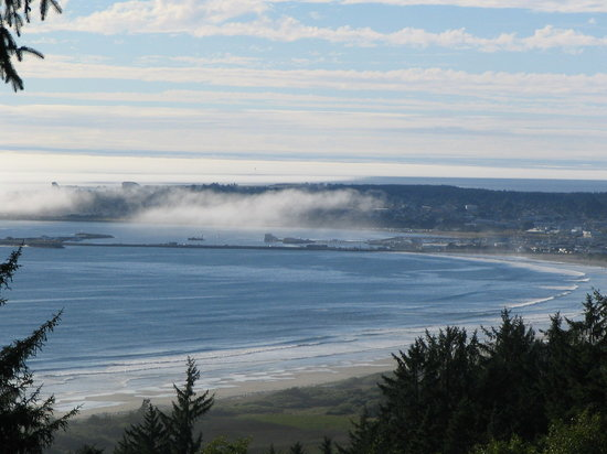 View of Crescent City From Overlook on Way to Klamath