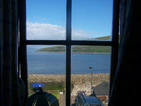 Applecross, UK: the view from the bedroom window