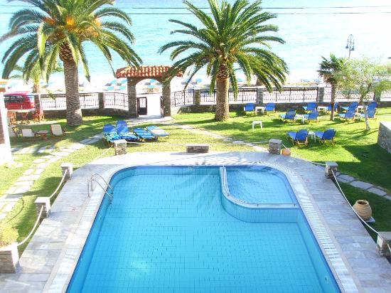 Hotel Fanis : the pool