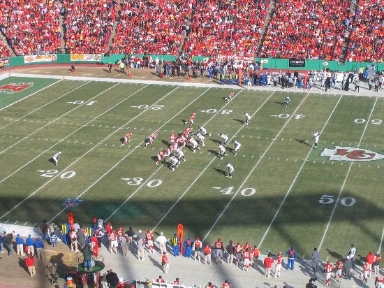 Hilton President Kansas City: Arrowhead Stadium - KC Chiefs, start of game