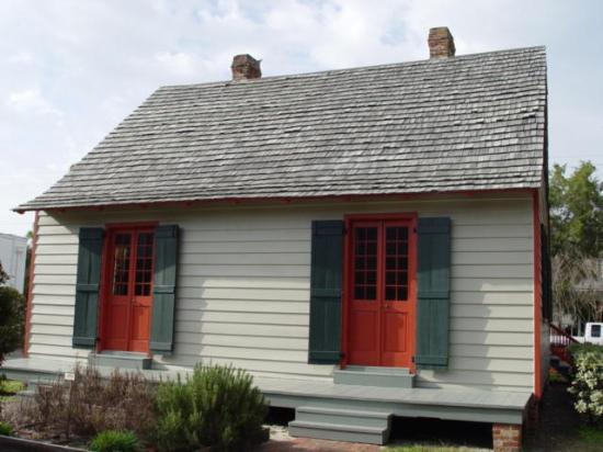 Historic Pensacola Village: lavallet house 1805