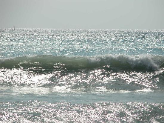 Levanto, Itália: mare mosso