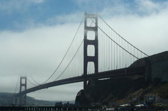 San Francisco Fire Engine Tours & Adventures: Golden Gate From Sausalito