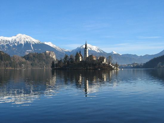 Golf Hotel Bled: Bled - island on the lake