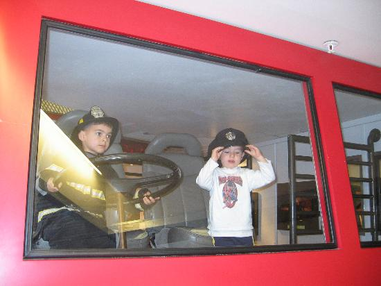 Children's Museum and Theatre of Maine: Great Firetruck