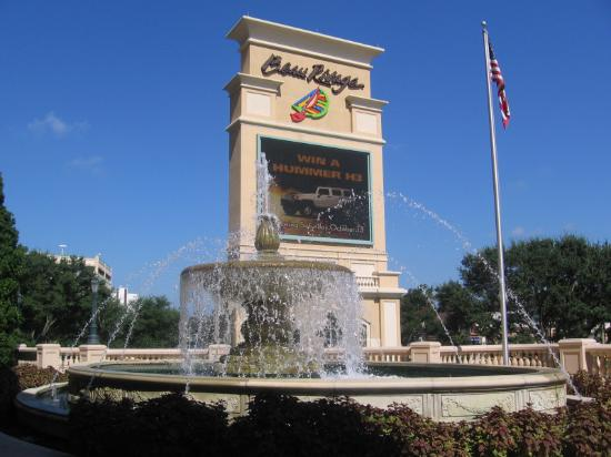 Fountain Sign Outside Beau Rivage Casino Biloxi Ms Picture Of
