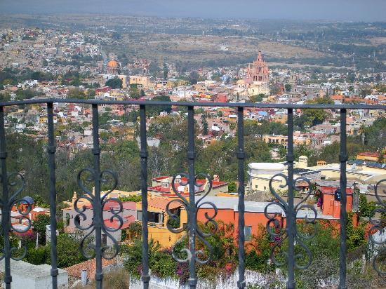 San Miguel de Allende, México: view from hillside
